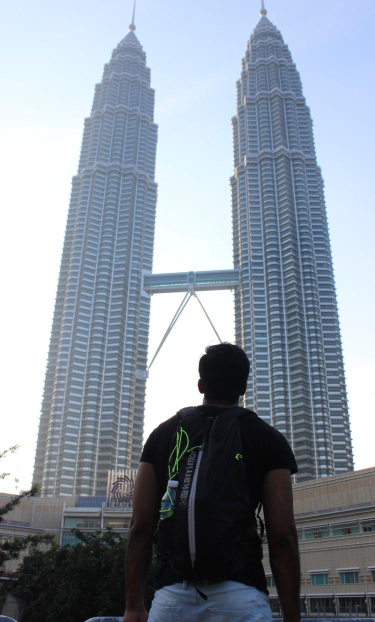 Petronas towers from far