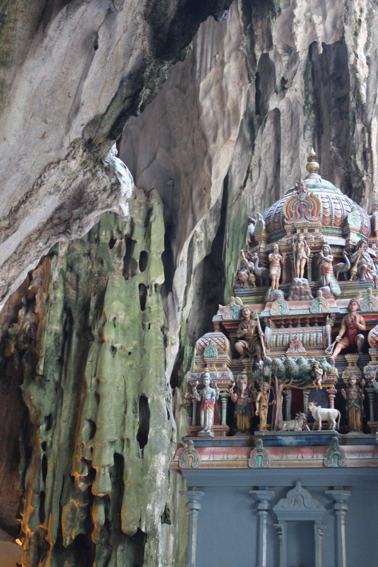 shrine in batu cave