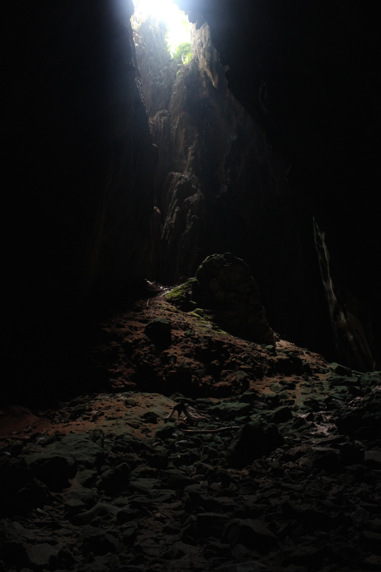 Deep with Batu caves