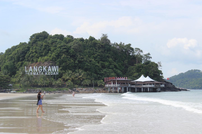 beach of langkawi