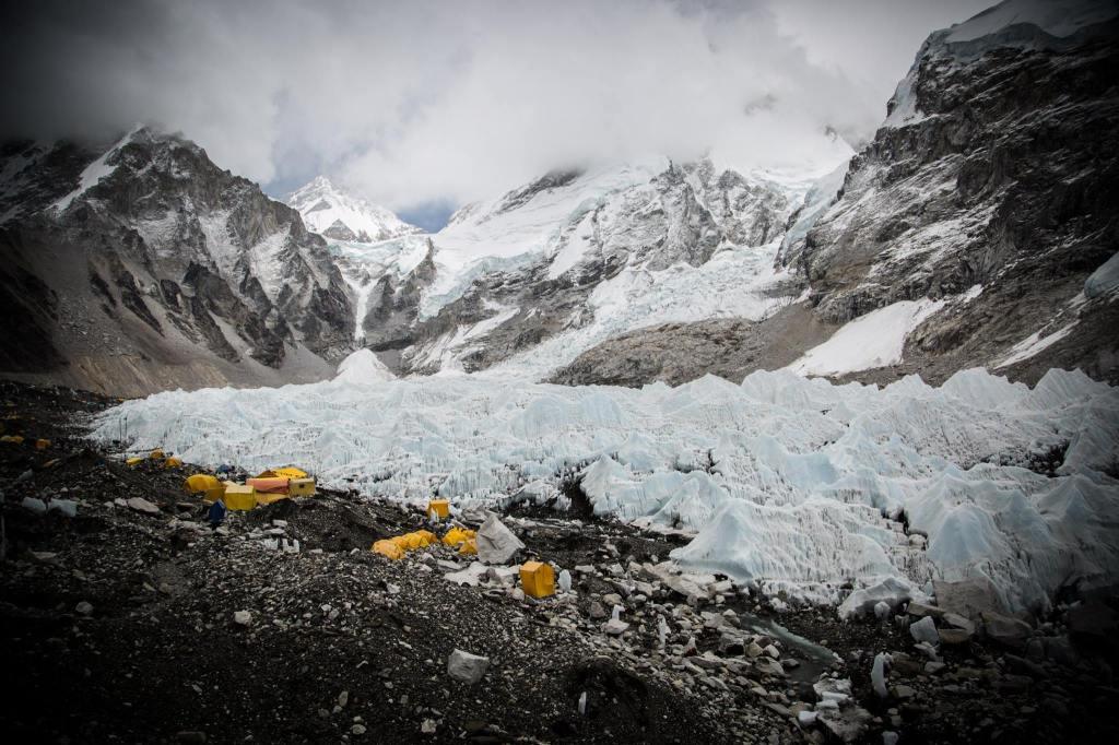 Everest Base Camp tents