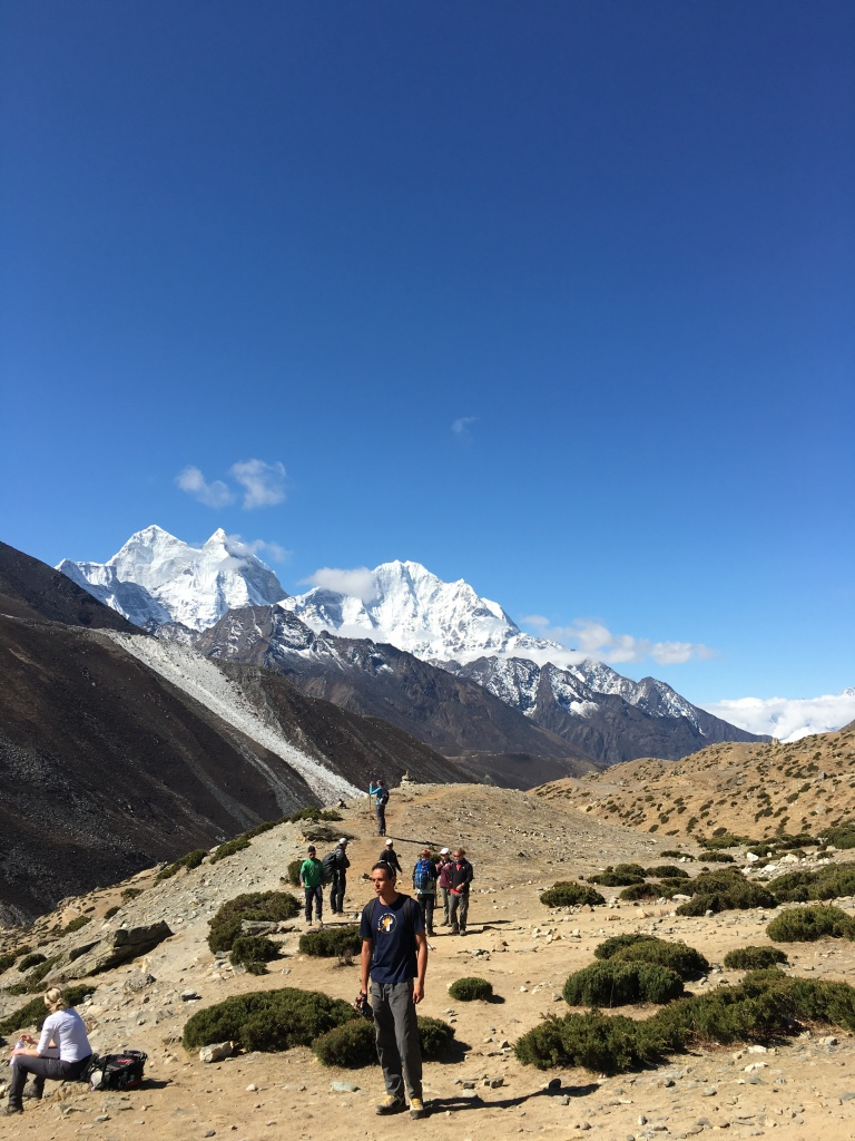 Ama Dablam in the valley