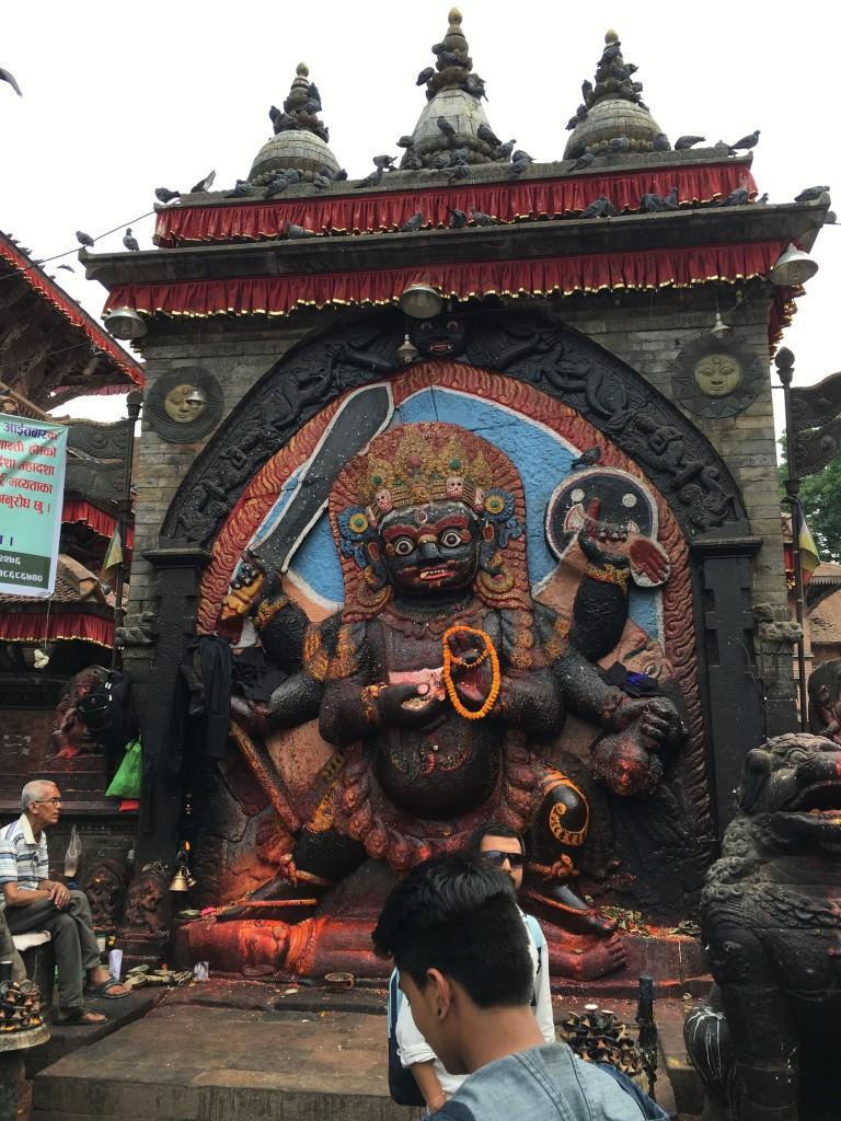 Kali Ma statue