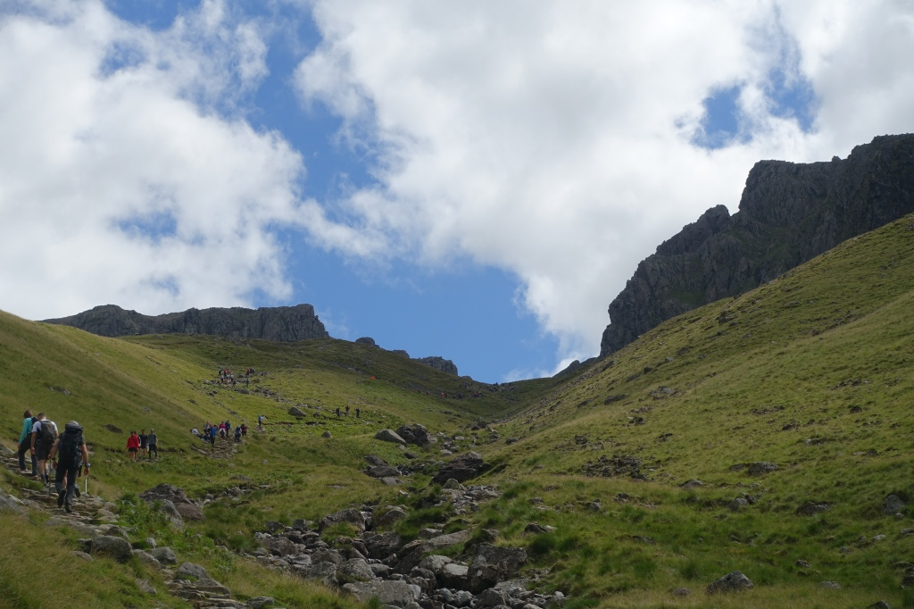 Corridor route up Scafell Pike