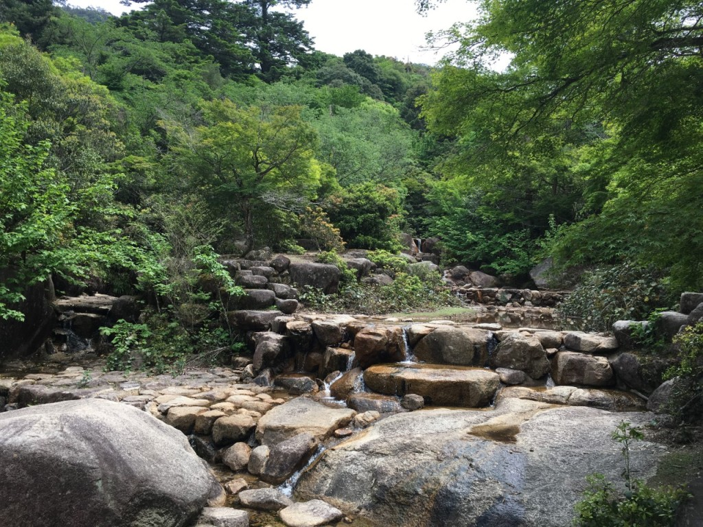 Stream from the top