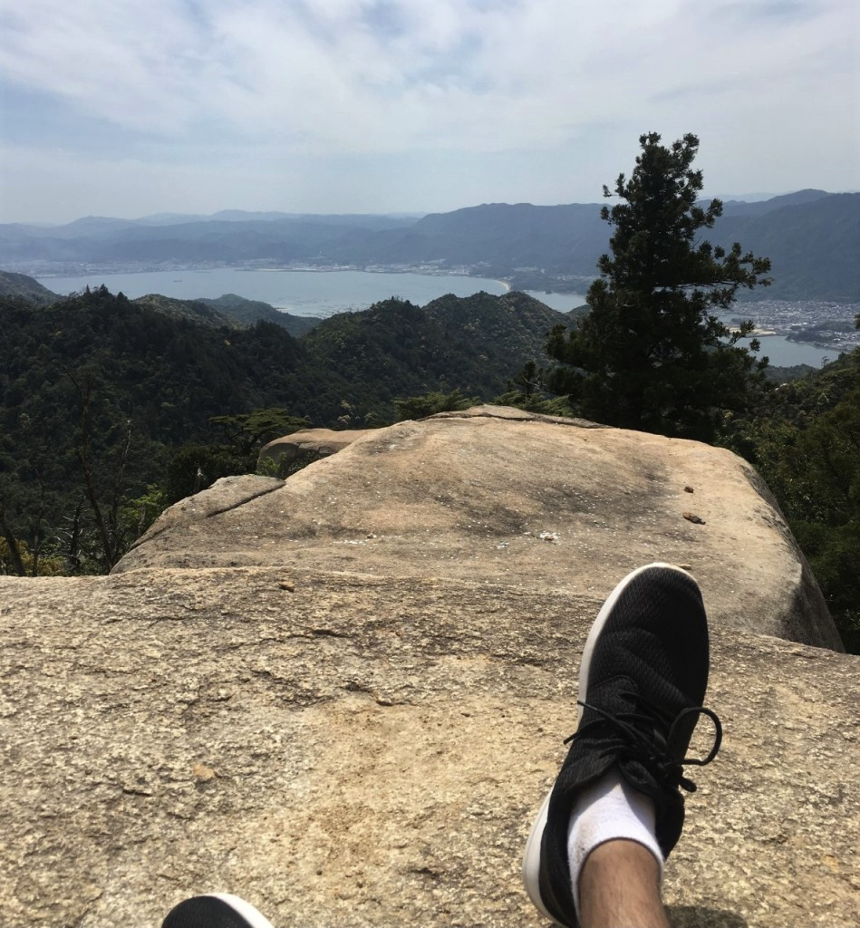 Summit view from Miyajima Island